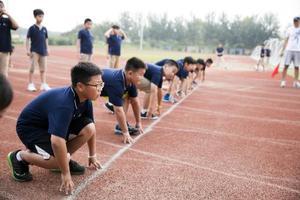 北京市新英才学校第十一届田径运动会顺利召开