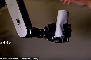 康奈尔大学研究员开发机器手臂 能精准接住啤酒罐