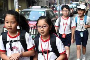 香港小学一年级学生数下跌 校方可缩减开班人数