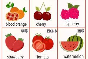 这些水果你吃过 但是你用英文都会说吗?