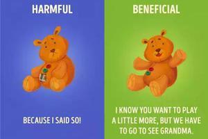 刷爆Facebook的漫画:这样说话孩子将受益终身