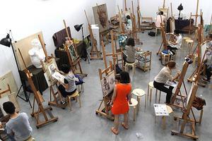 陕西两万余名学生参加艺考统考 美术考题难度适中