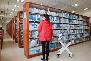 药大图书馆全省首开RFID智能图书管理系统