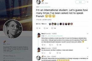 """美教授为""""禁讲中文""""致歉 涉歧视的高校可不止杜克"""