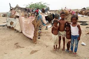 联合国世粮署:也门一代儿童正面临饥饿