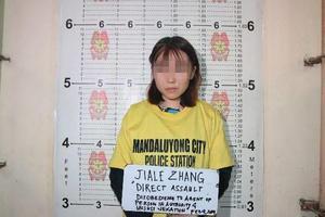 菲媒看中国留学生向菲警泼豆花:应尊重所在国法律