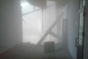 俄罗斯圣彼得堡一大学建筑发生部分垮塌