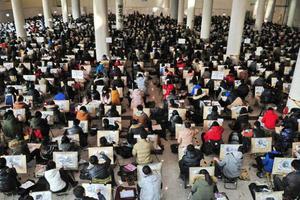 北京高校艺考目击:艺考不易 追梦无悔