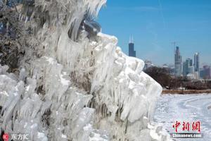 美国东部迎来大雪和冻雨 部分学校已停课