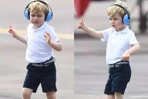 英国爆料:乔治小王子不知道家里有王位(图)