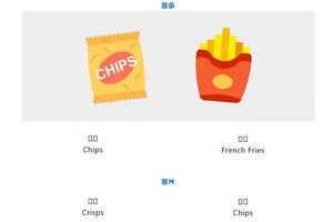 买薯片只会说chips?英国的服务员会给你另一种东西
