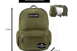以色列退役军官设计学生防弹背包 在美国热卖