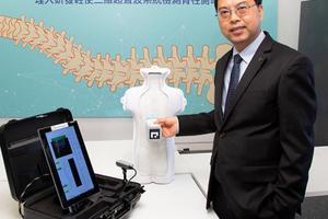 香港理工大学研发超声波系统 无辐射检测脊柱侧弯