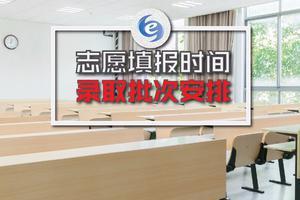 四川2019高考志愿填报时间、录取批次安排