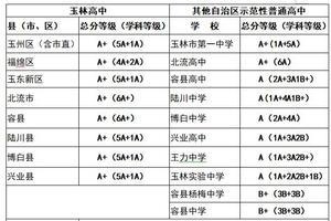 2019玉林中考成绩开放查询 招生录取工作明日开始