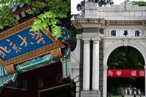 2019北大清华本科普通批次录取分数对比