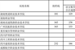 上海2019高招高職(???普通批次平行志愿投檔線