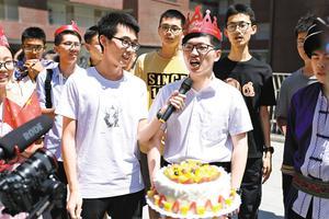 华南理工大学广州国际校区首次开门迎新