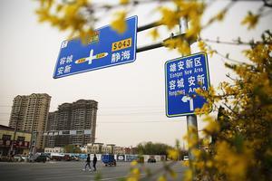 清华大学与雄安新区校企改革合作签约