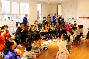 德育苑紫藍石班升班典禮:寶貝 祝賀你們長大啦