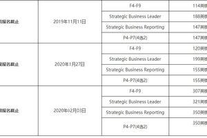 高顿财经:2020年3月ACCA报名截止时间