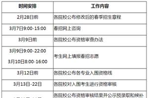 上海:春季高考取消院校自主测试 成绩按150分统一计入