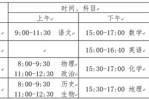 北京2020年新高考适应性测试(模拟考)问答