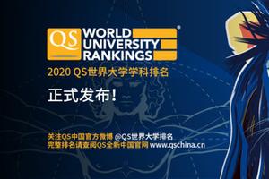 QS世界大发棋牌app大学 学科排名发布 大陆高校5学科入围世界十强