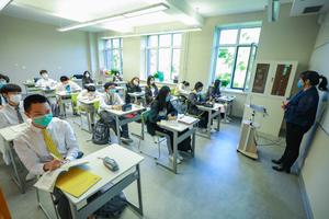 独家策划:探秘国际学校复课筹备现场