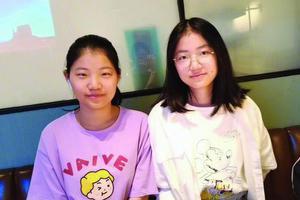 双胞胎同分考进江苏大学 立志考研再做战友