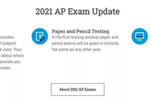 2021年AP考试安排:中国区仍为线下纸笔考试
