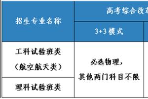 北京航空航天大学2021年宏志计划招生简章发布