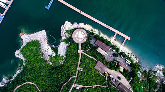 圆歌文旅度假区·易水湖风光