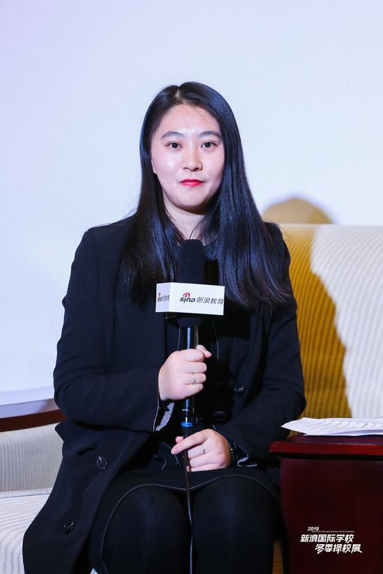 北京爱迪国际招生区域主管朱笑颖老师