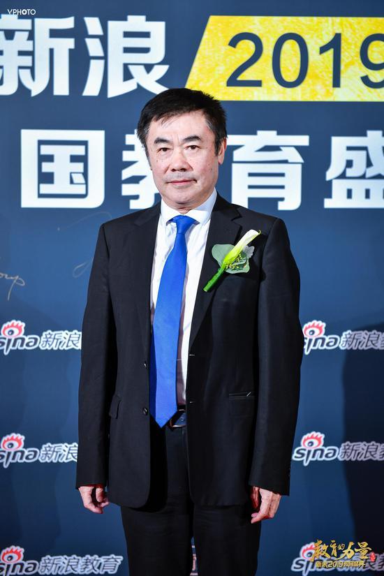 图文:北京留学服务行业协会会长桑澎出席教育盛典