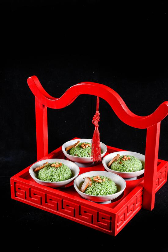 翡翠松仁香炒饭