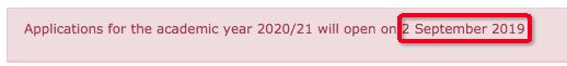 剑桥官网申请页面截图