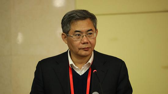 中国高等教育学会副会长、秘书长康凯致辞