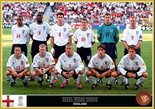 图片5:2000年欧锦赛英格兰队首发阵容