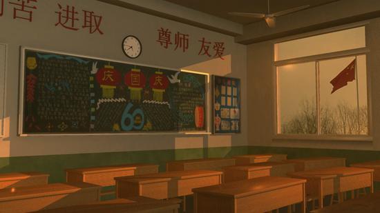 教室 图片来源于网络与本文无关