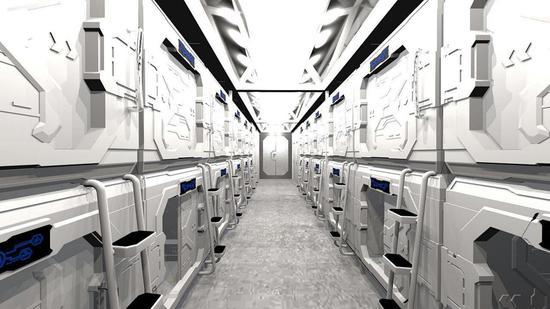 火星营地太空舱