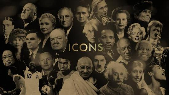 """""""20世纪最伟大人物"""" 图自BBC"""