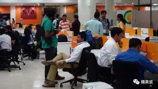 硅谷办公室里的印度人
