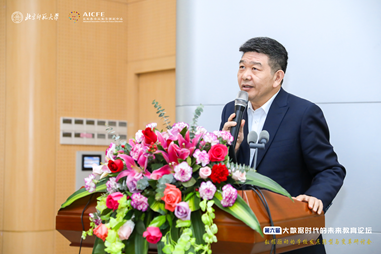北京师范大学教授、山东省教育厅原一级巡视员张志勇作报告