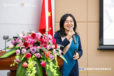 北京师范大学教育学部马宁副教授作报告