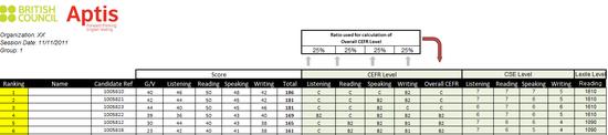 普思考试成绩小组报告示例