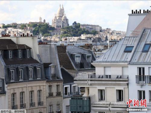 资料图片:自从2017年末巴黎房租限价令取消后,巴黎房租价格猛增。