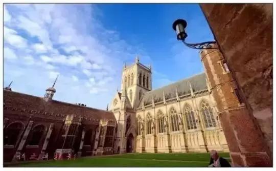 剑桥大学(来源:聚微信)