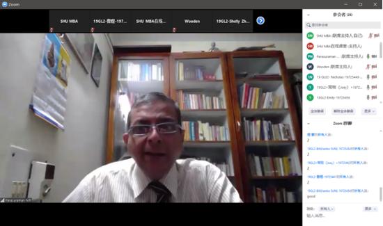 印度TOP商学院院长分享MBA《会计与决策》课堂
