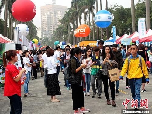资料图为台湾大学椰林大道。 中新社记者 张晓曦 摄